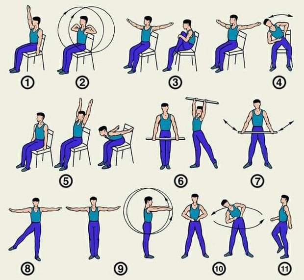 Упражнения для людей с всд