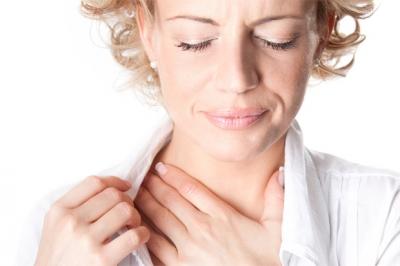 Ком в горле при всд: симптомы, как снять спазм, першение, боли в горле
